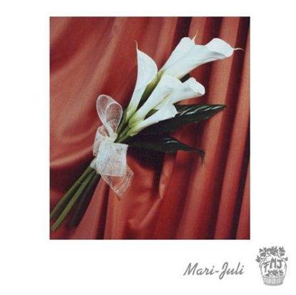 Ref.FMJ0035.Ramo de Novia Bouquet con tonos blancos y verdes.