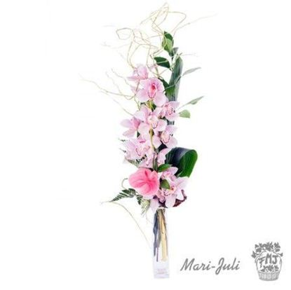 Ref.F0013.Ramo orquidea decorada varios colores Maracaibo.
